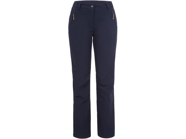 Icepeak Savita Pantalon Softshell Femme, dark blue
